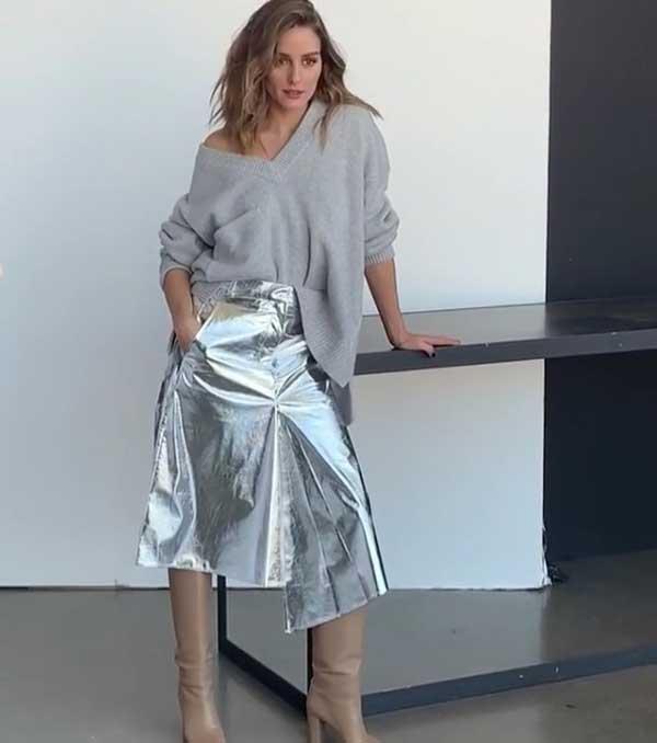 Стильный образ Оливии Палермо