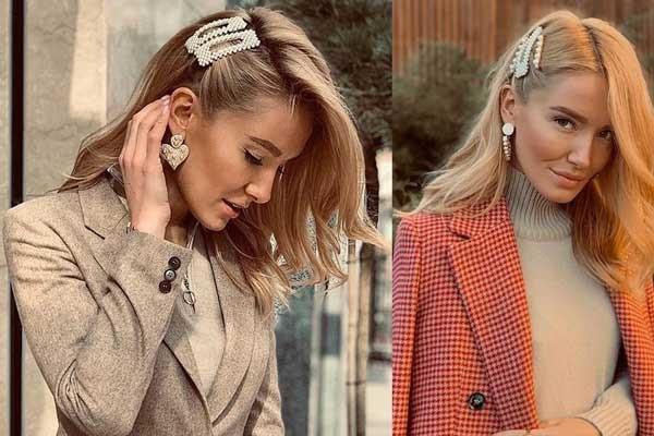 Аксессуары для волос с жемчужинами