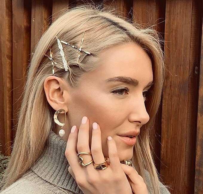 Самые трендовые и модные украшения для волос фото
