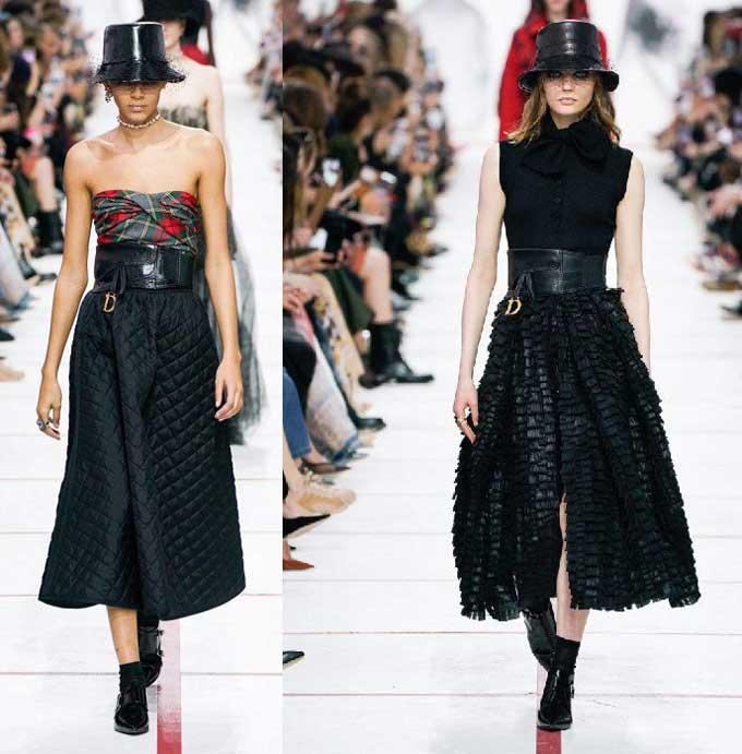 Длинные юбки Dior