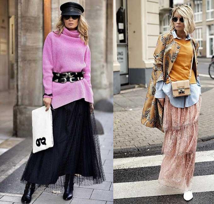 Модные женские юбки 2019 - актуальные ткани