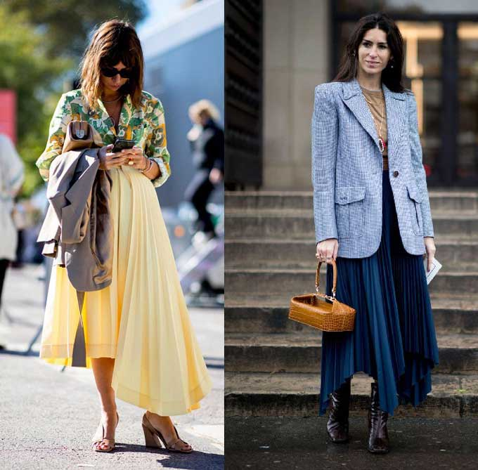 Самые модные длинные юбки 2019