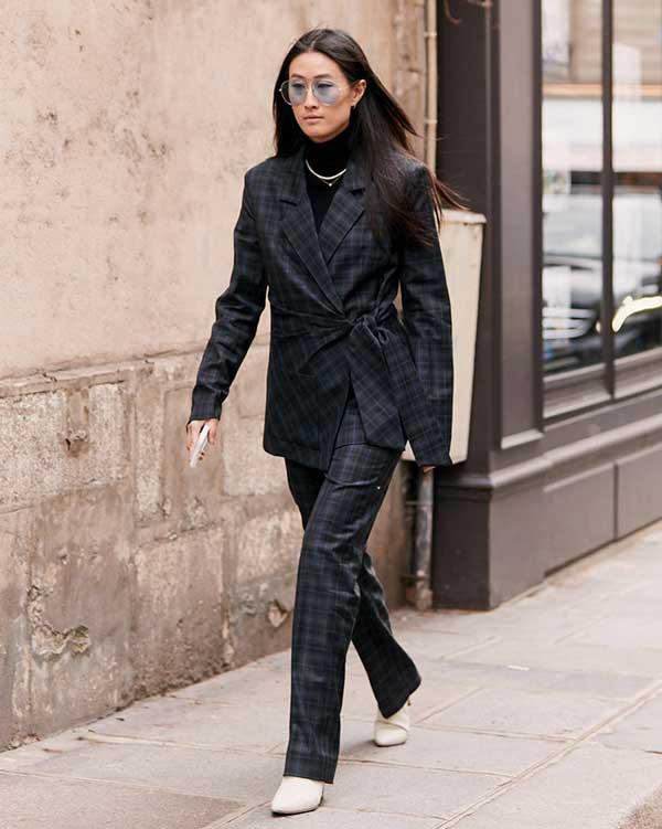 Модный пиджак кимоно уличный стиль