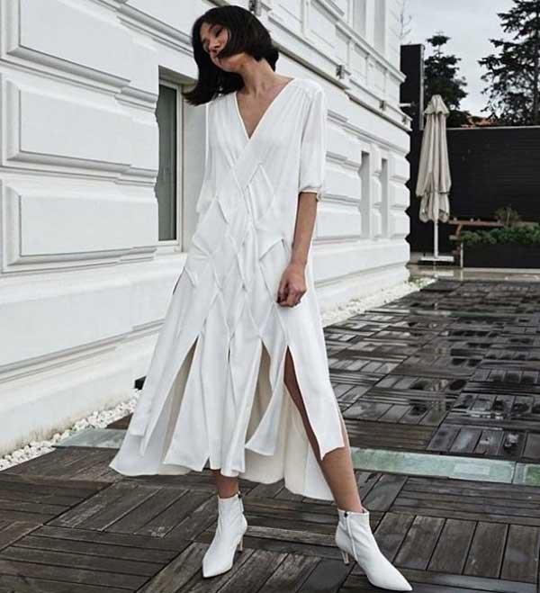 Фото модных платьев