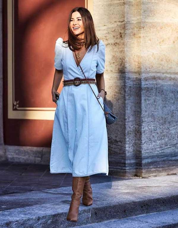Обзор модных платьев фото
