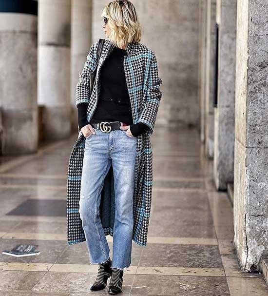Образ на весну с джинсами