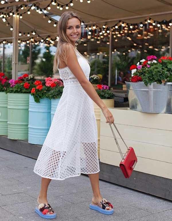Кружевное платье - мастхэв лета