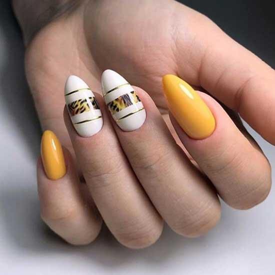 Ногти модных цветов 2019