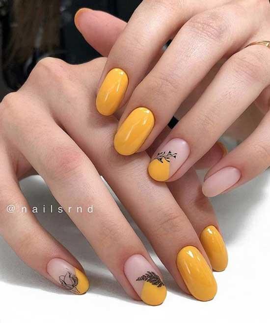 Модные цвета ногтей