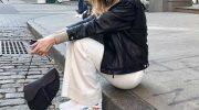 С чем носить белые кроссовки: женские образы 2019—2020, фото