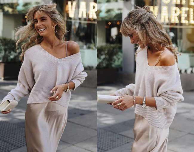 С чем носить юбку слип: самая модная юбка 2019
