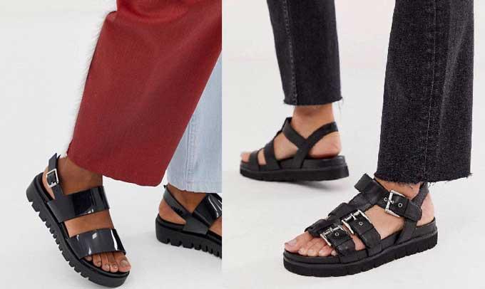 Спортивные сандалии - модные модели