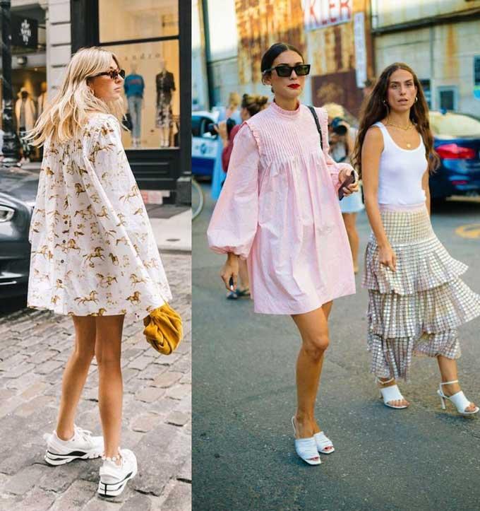 Лучшие образы модных платьев лето