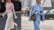 С чем носить юбку слип: самая модная юбка, фото и образы