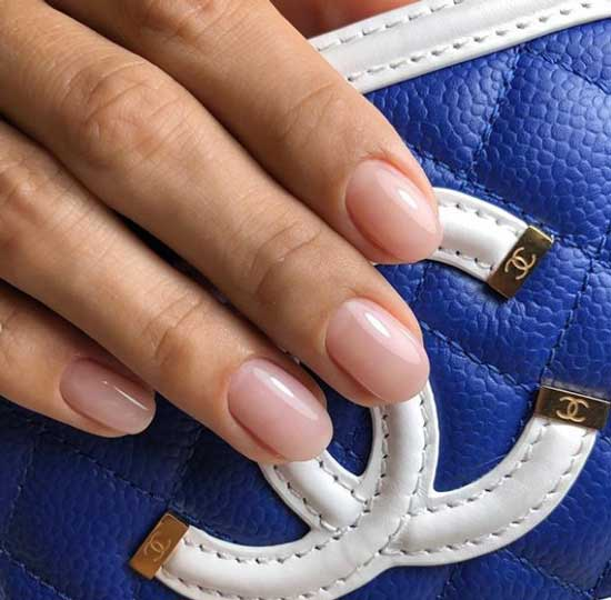 Натуральный бежевый цвет ногтевой пластины