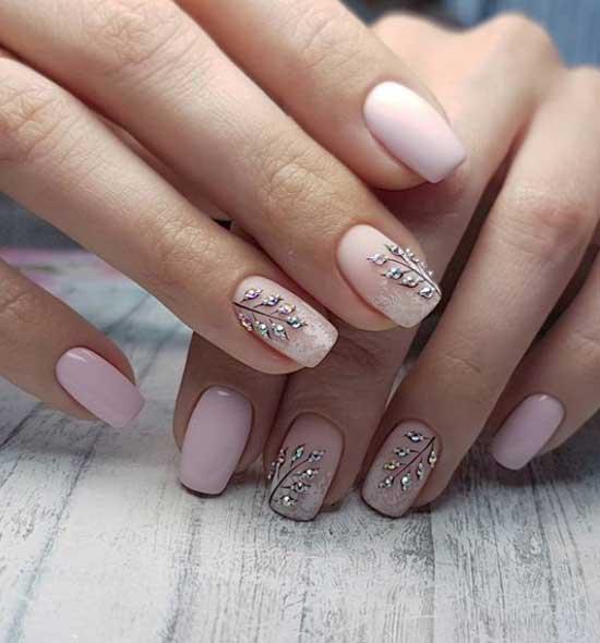 Красивый дизайн ногтей на свадьбу