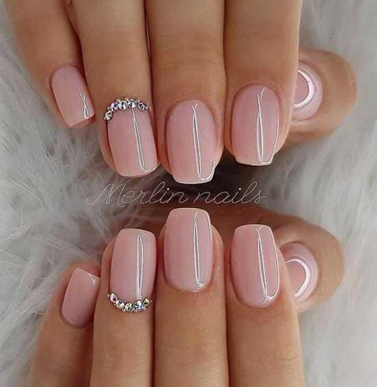 Новые нежные идеи дизайна ногтей