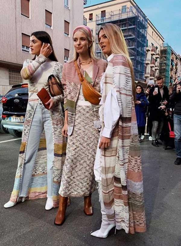 Уличная мода - модный деним