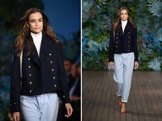 Модные джинсовые брюки alberta-ferretti-cruise-2020-
