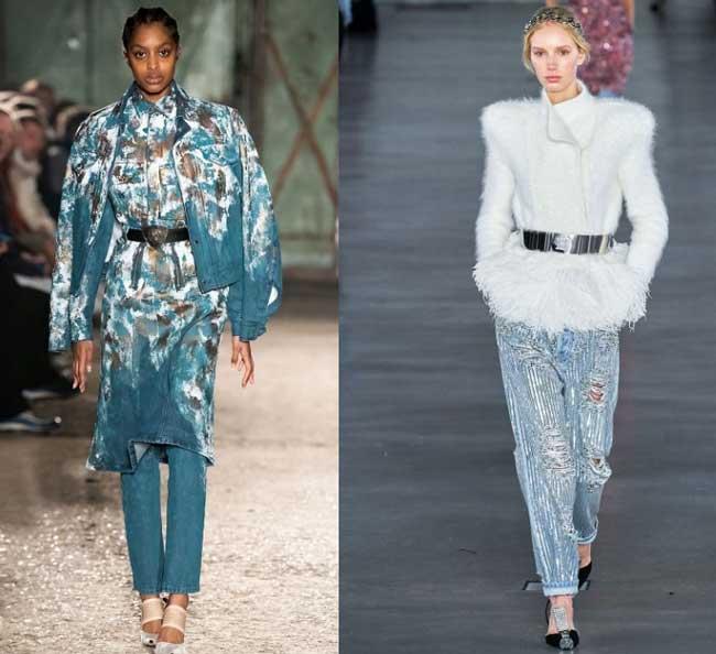 Balmain и GmbH модные женские джинсы