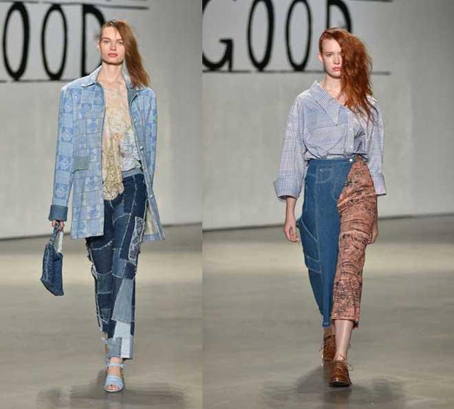 Модный деним 2019-2020: новинки джинсовой одежды для женщин