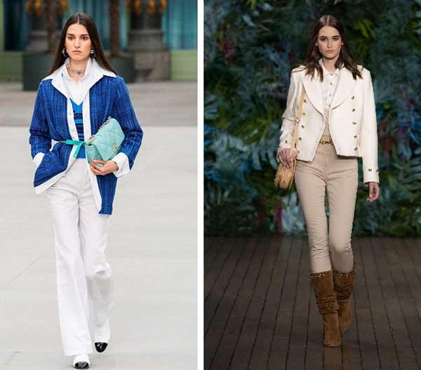 Модный деним - джинсовая одежда для женщин