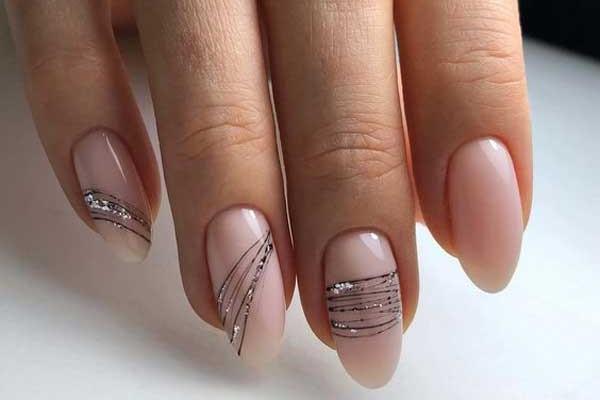 Модный классический маникюр: фото, цвета, дизайн ногтей