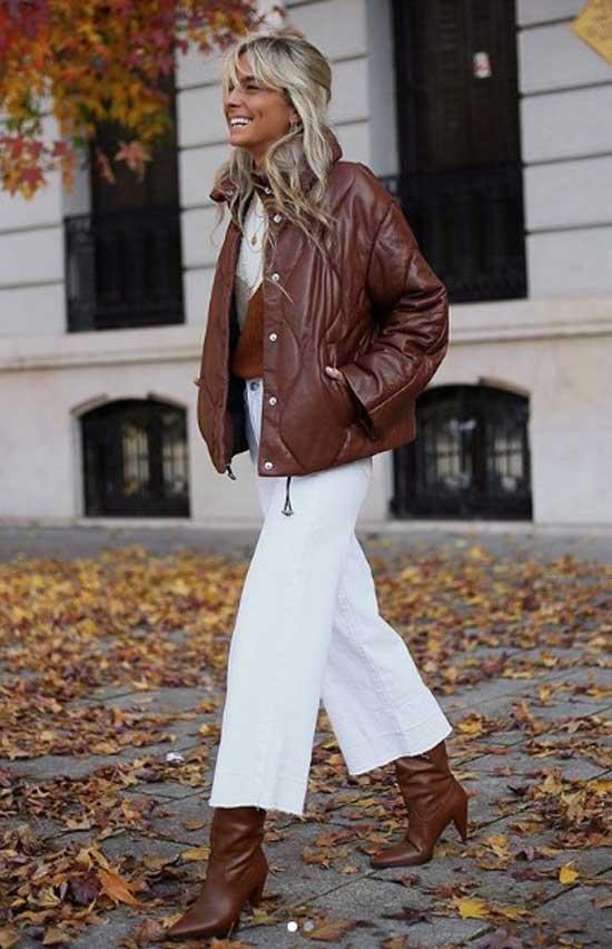 Модные брюки с бахромой