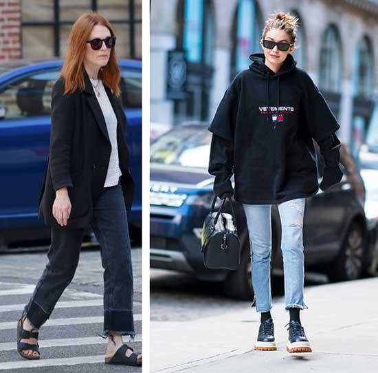 Базовые образы с джинсами