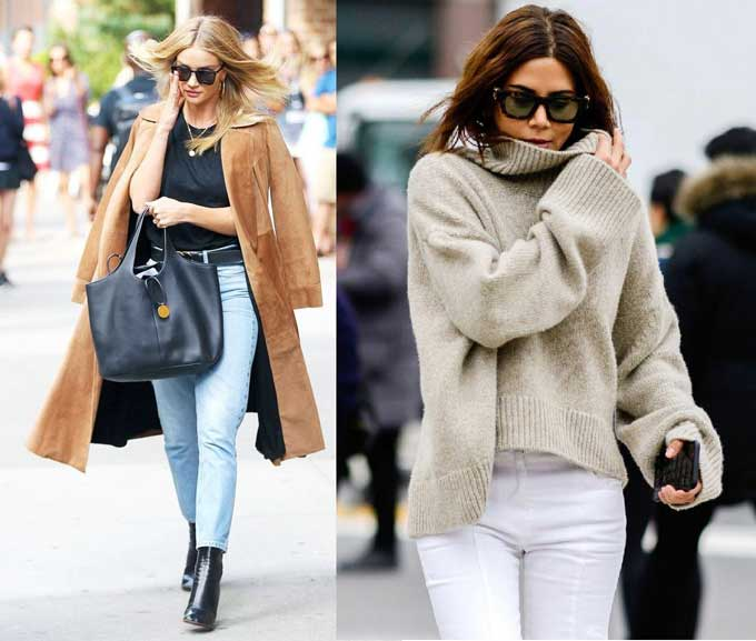 Стильные образы с джинсами: фото, тенденции, модный деним