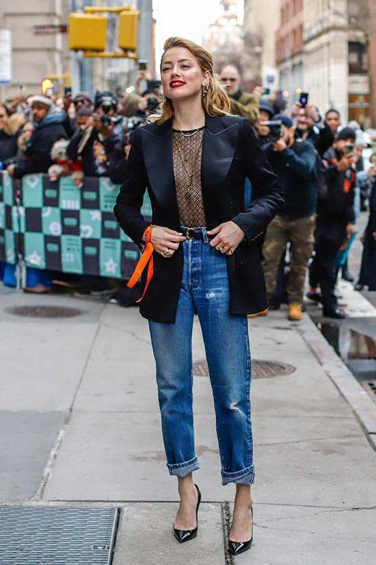 Фото-образы с джинсами