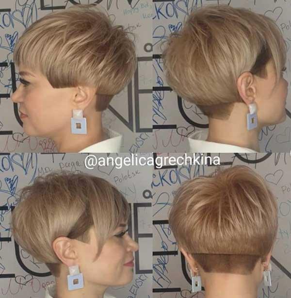Стрижки волос с косой челкой