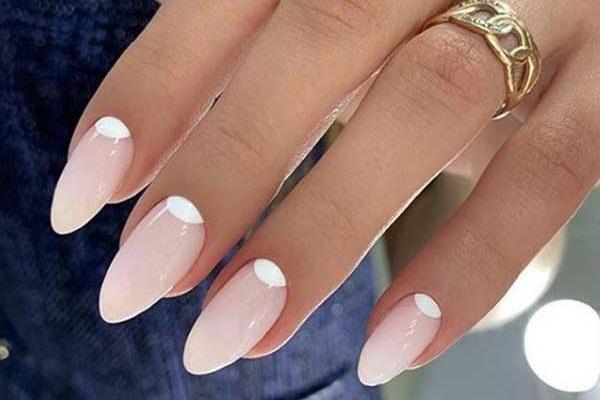 Модные идеи дизайна миндалевидных ногтей