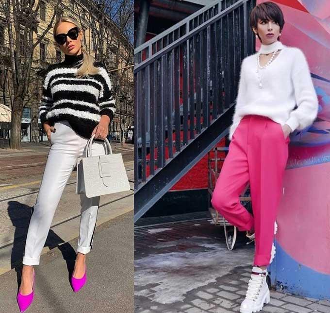 Модные свитеры 2019-2020 фото и образы
