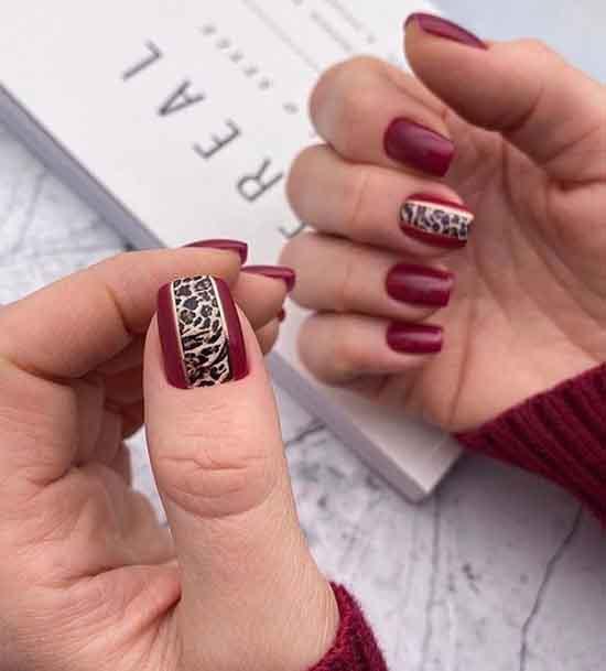 Леопардовый маникюр: дизайн на фото в разных техниках, оттенках