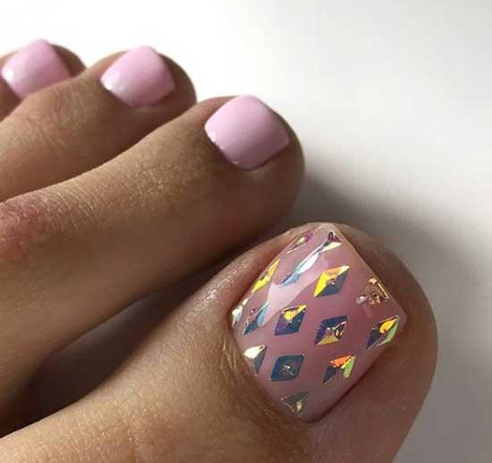 Нюдовый педикюр: фото, ключевые nail-тренды, идеи дизайна ногтей
