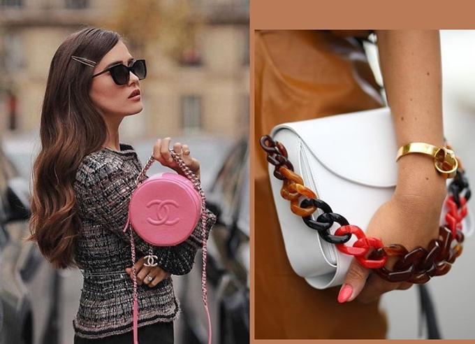 Массивные цепочки - пример тенденций моды 2019-2020