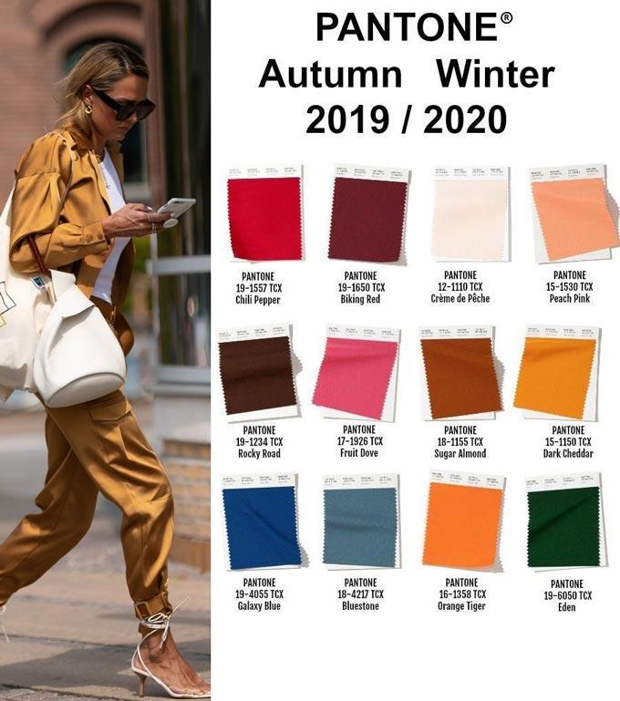Главные тенденции, цвета и тренды осень-зима 2019-2020