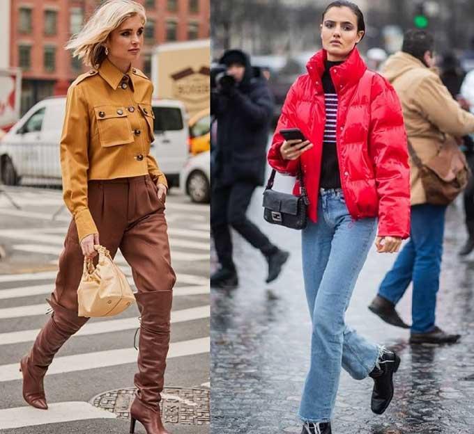 Брюки заправленные в сапоги - тенденции моды