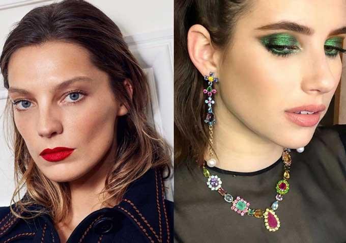 Примеры модного макияжа, тенденции