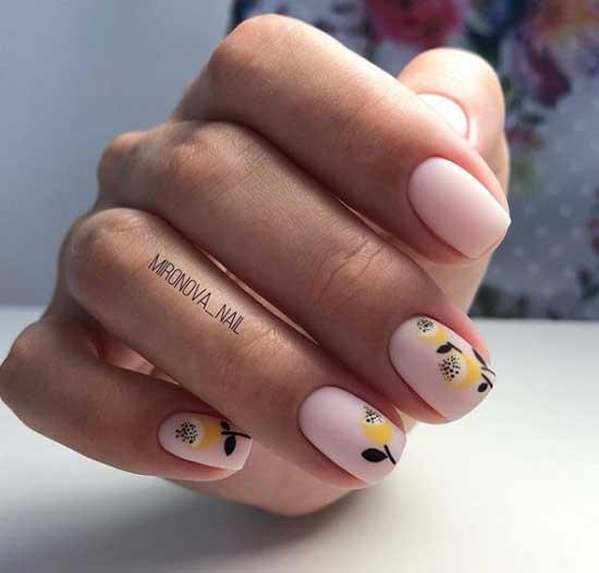 Минимализм рисунки на короткие ногти