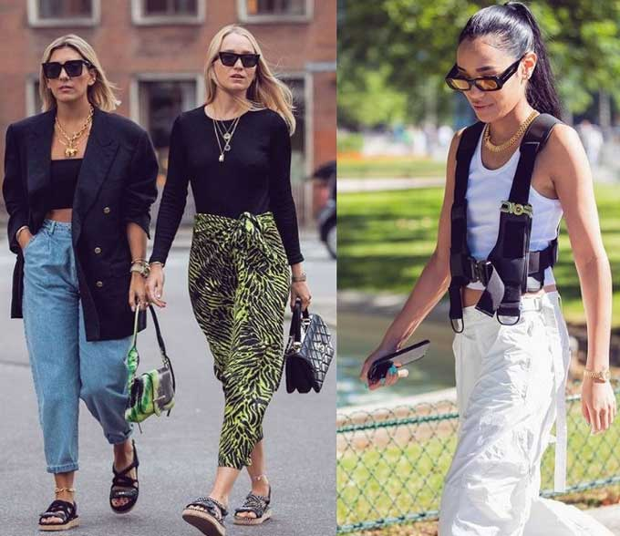 Стильные образы с самым модным аксессуаром 2019-2020