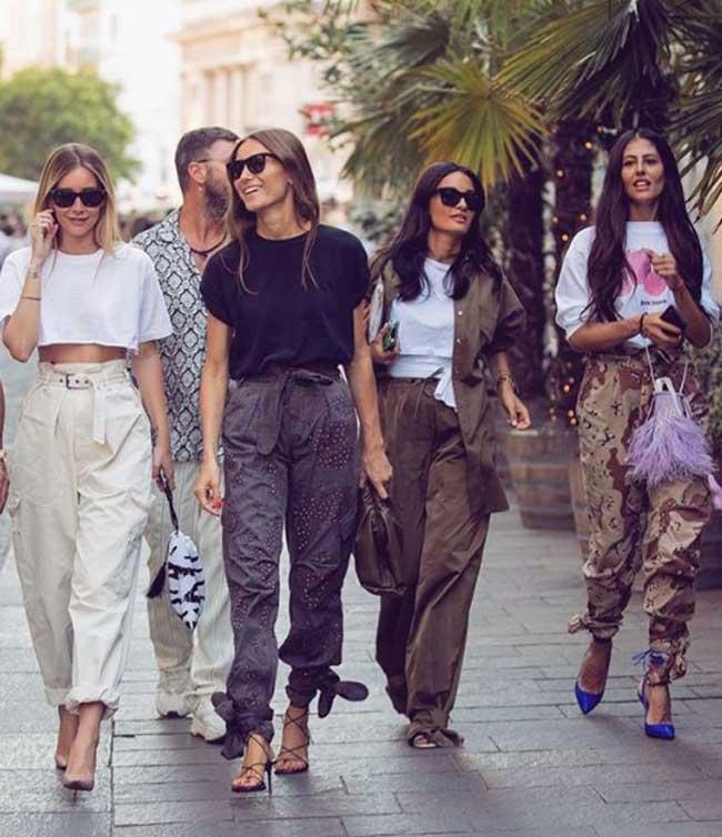 Модные брюки карго 2019