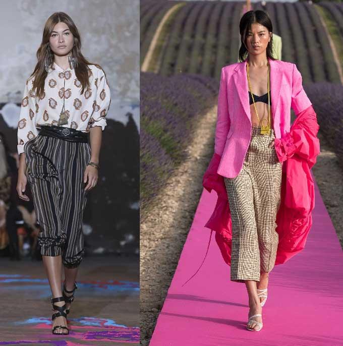 Модные бриджи и кюлоты 2019-2020