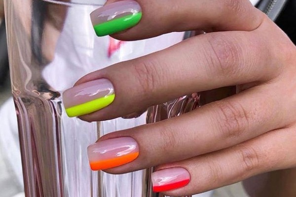 Новинки маникюра на средние ногти