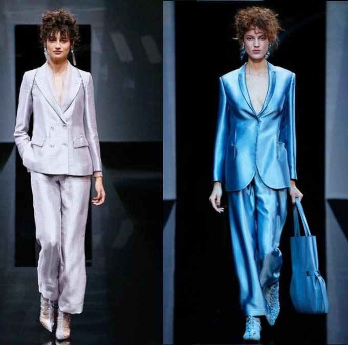 Модный брючный костюм Giorgio Armani