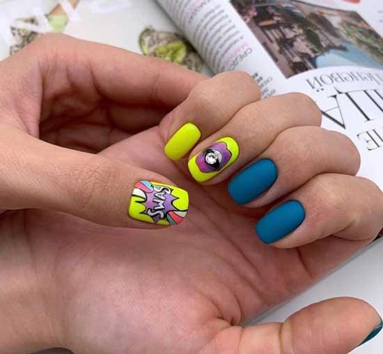 Классные рисунки на ногтях