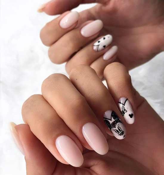 Рисунки в дизайне ногтей