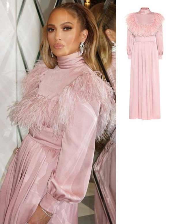 Дженнифер Лопес в платье от Valentino