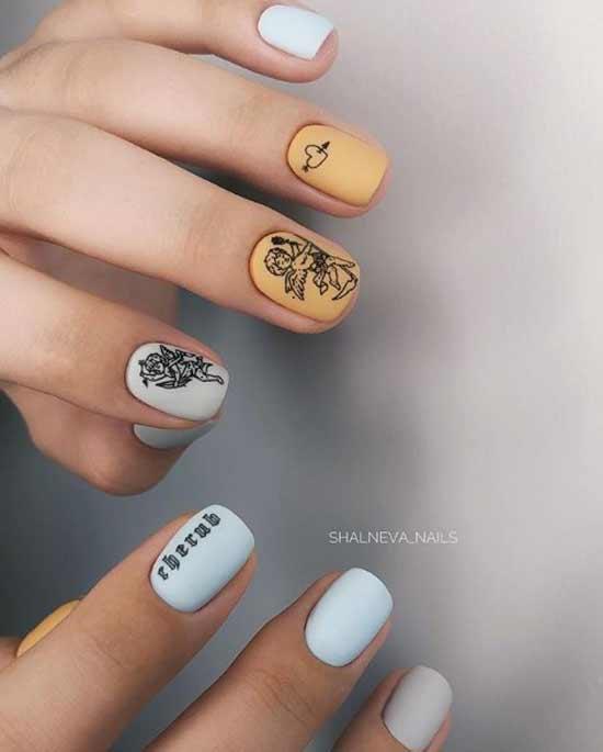 Дизайн разные руки